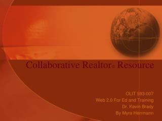 Collaborative Realtor  Resource