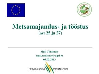 Eesti maaelu arengukava  2007 2013 MAK