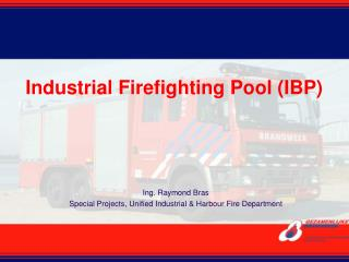 Industrial Firefighting Pool IBP