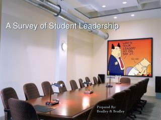 a survey on student leadership