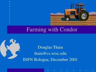 Farming with Condor