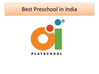 Preschool in India