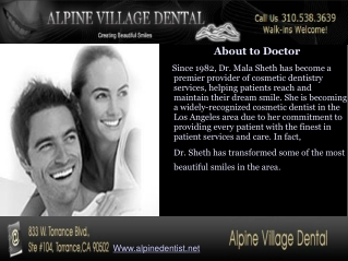 Alpine Village Dental � Torrance CA