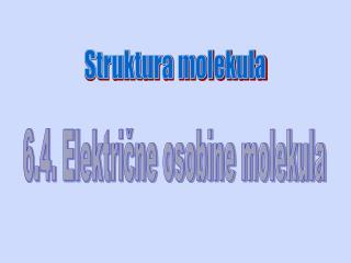 Struktura molekula