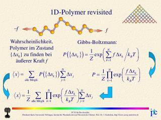 Gibbs-Boltzmann:
