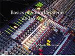 basics of sound systems and acoustics