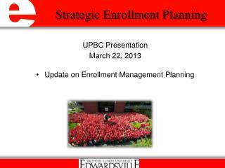 Strategic Enrollment Planning