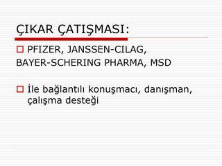 IKAR  ATISMASI: