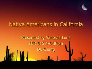 native americans in california