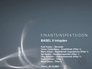 BASEL II infop ev