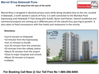 Marvel Brisa new residential project call 9028704501