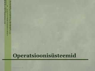Operatsioonis steemid