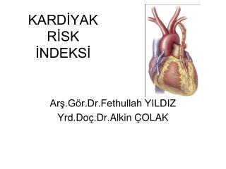 KARDIYAK RISK INDEKSI