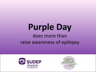 Purple Day does more than raise awareness of epilepsy