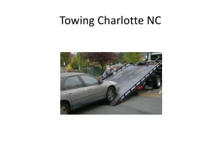 towing charlotte nc