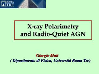 X-ray Polarimetry  and Radio-Quiet AGN