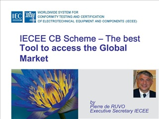 IECEE CB Scheme   The best Tool to access the Global Market