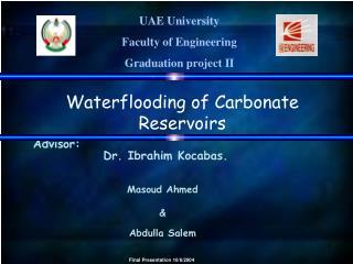 UAE University  Faculty of Engineering Graduation project II