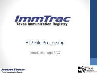 HL7 File Processing
