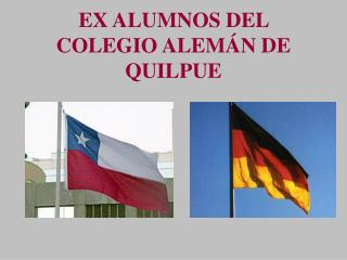 EX ALUMNOS DEL COLEGIO ALEM N DE QUILPUE