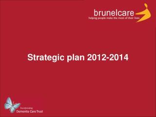 Strategic plan 2012-2014