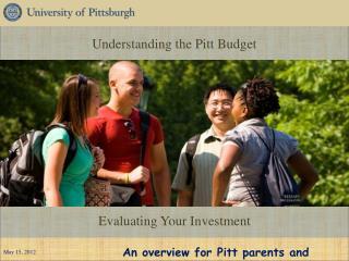 Understanding the Pitt Budget
