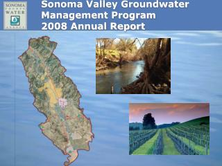 Sonoma Valley Groundwater       Management Program  2008 Annual Report