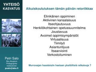 YHTEIS  KASVATUS