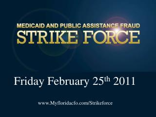 Friday February 25th 2011