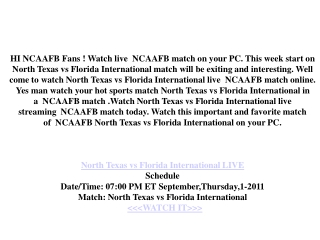 north texas vs florida international live game today ncaafb,