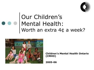 Our Children s Mental Health:  Worth an extra 4  a week