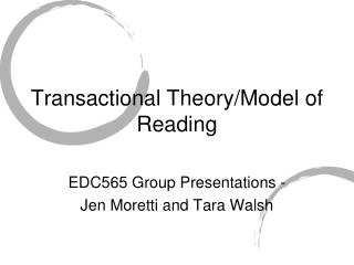 transactional theory