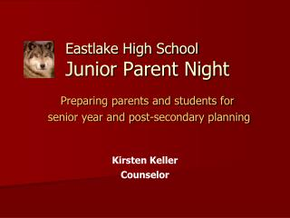 Eastlake High School Junior Parent Night