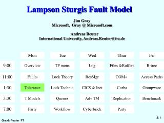 lampson sturgis fault model