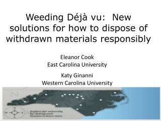Weeding D j  vu:  New solutions for how to dispose of withdrawn materials responsibly