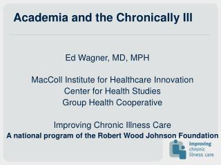 Academia and the Chronically Ill