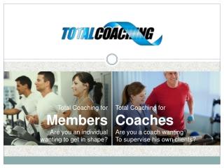 Total Coaching for Members