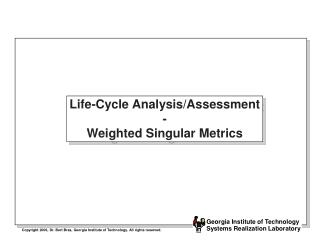 life-cycle analysis