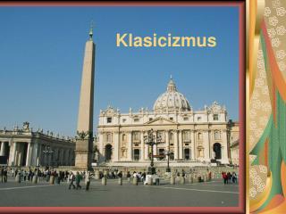 Klasicizmus