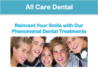 Dentist in Margate - All Care Dental