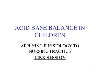case studies on acid-base disorders