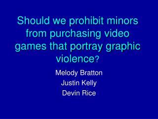 Video Games Presentation