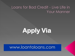 Get bad credit loan services in uk