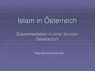 Islam in  sterreich