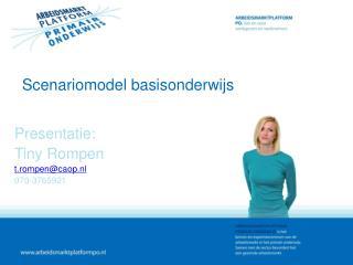 Scenariomodel basisonderwijs