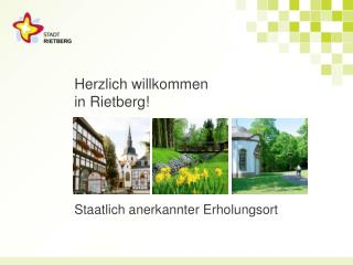 Herzlich willkommen in Rietberg