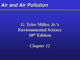 air and air pollution