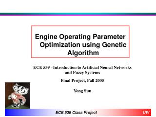 Engine Operating Parameter Optimization using Genetic Algorithm