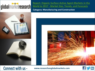 Organic Surface-Active Agent Market   Research Report