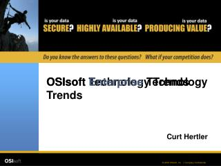 OSIsoft Technology Trends